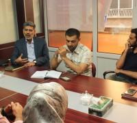 بازدید مهمانان خارجی از موسسه هدایت فرهیختگان جوان- شهریور 95
